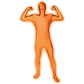 Morphsuit Glow Orange - Child Costume Size: 38-40