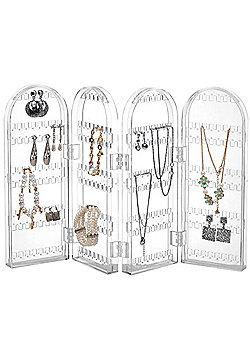 Beautify Foldable Acrylic Earring Jewellery Stand