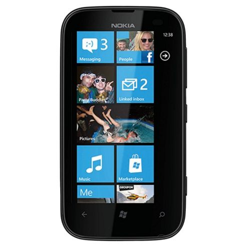 Tesco Mobile Nokia Lumia 510 Blue