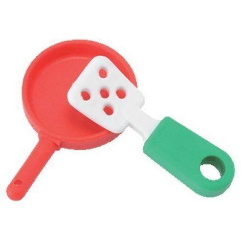 Frying Pan Set - Puzzle Eraser - TY Beanies