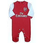 Arsenal Baby Core Kit Sleepsuit - 2015/16 Season - Red