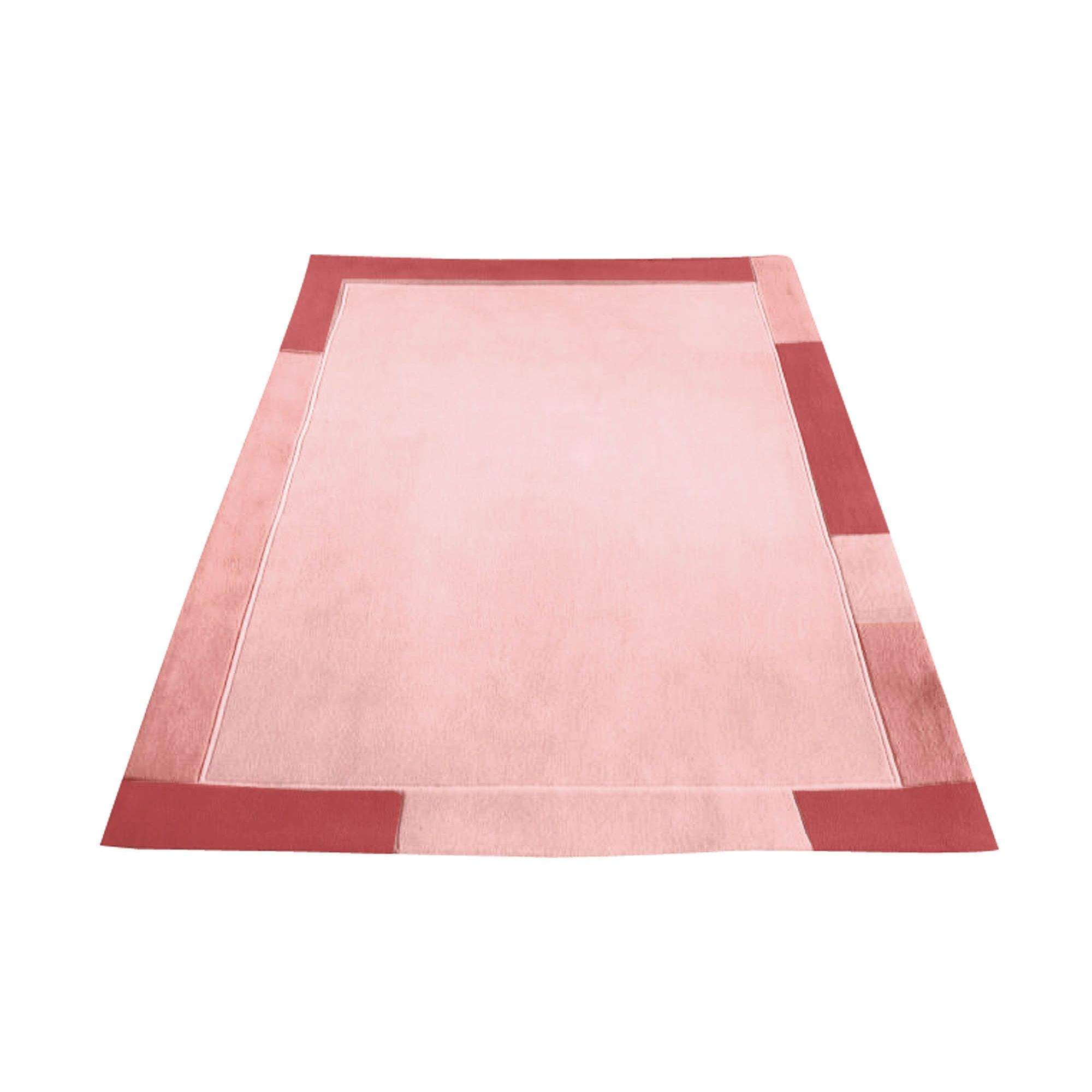 Premier Housewares Terracotta High Tufted Rug - 120 cm x 170 cm (3 ft 11 in x 4 ft 6 in)