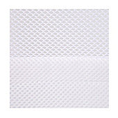 BreathableBaby 2 Sided Mesh Cot Liner - White Mist