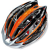 SH+ Zeuss MTB Helmet: Orange L/XL.