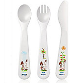 Philips AVENT Baby Fork, Knife and Spoon Set SCF714/00