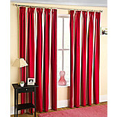 Twilight Ready Made Blackout Curtain - Red