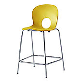Rexite Olivia Kitchen Stool - Yellow