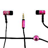 Ed Hardy in Ear Headphones - Pink