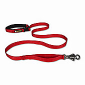 Ruff Wear Flat Out Dog Leash in Red Currant