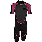 Junior Shorty Wetsuit - Pink
