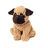 Intelex Warmies Heatable Pug Microwavable Cozy Plush Soft Toy