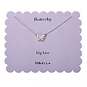 Children's Little Ella Flutterby Butterfly Necklace