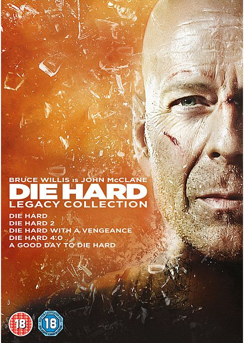 Die Hard Collection 1-5 (DVD Boxset)