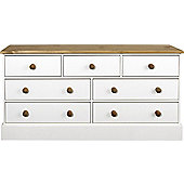 Home Essence Lampton 7 Wider Drawer Chest