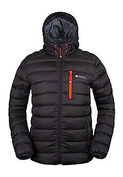 Mountain Warehouse Link Mens Padded Jacket - Black