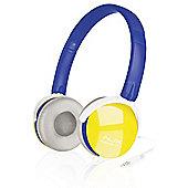 SPEEDLINK Aux Freestyle Stereo Headset, Blue/Yellow (SL-8752-BEYW)