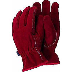 Town & Country Medium Premium Suede Gardening Gloves