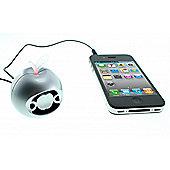 Musibytes MB36025 Apple Byte Speaker - Silver