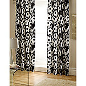 Catherine Lansfield Kids Its a goal Tab Top Curtains 66x72 (168x183cm)- World Cup Special