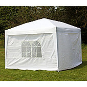 Palm Springs 10' X 10' Pop Up Gazebo Inc Sides White