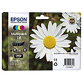 Epson 18 Daisy Multipack Claria Printer Ink Cartridge