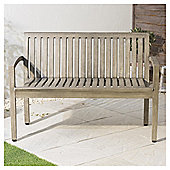 Porto Distressed Effect Wooden Bench