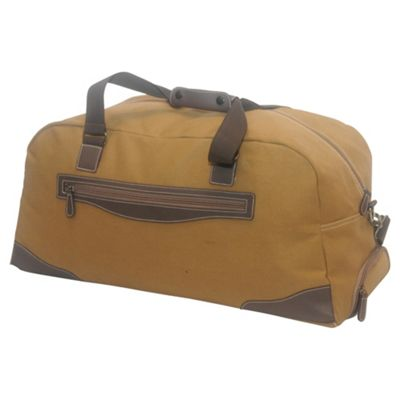 Tesco Canvas Holdall, Khaki