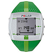 Polar FT4F Sport Watch/Heart Rate Monitor, Green