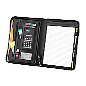 Falcon FI 6521 A4 Zip-around Conference Folder with Calculator