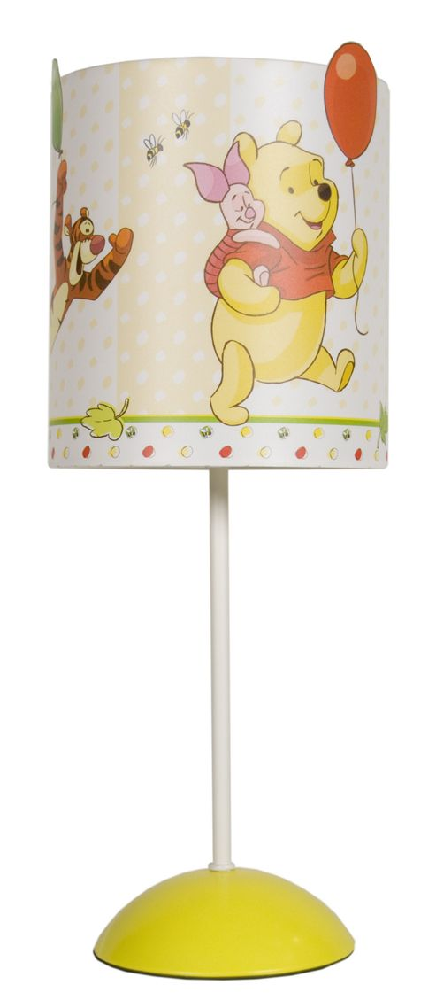 Buy Disney Winnie The Pooh Table Lamp In Multi Coloured