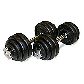 Body Power 30Kg Spinlock Dumbbell Set