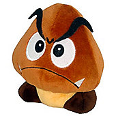 "Official Nintendo Mario Plush Series Stuffed Toy - 5"" Goomba"