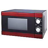 Tesco 17L Solo Red Microwave
