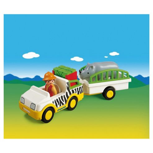 Playmobil Safari Truck with Rhino