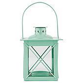 Tesco Metal Lantern, Spearmint