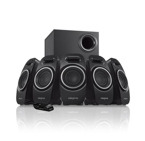 Creative Labs A550 5.1 PC Speakers.