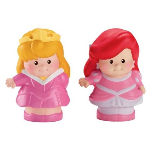 Disney Princess Little People 2 Pack Asst- Assortment – Colours & Styles May Vary