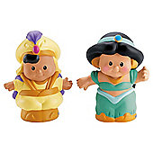 Disney Princess Little People 2 Pack Asst