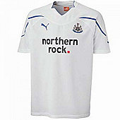 2010-11 Newcastle 3rd Puma Football Shirt (Kids) - White