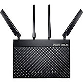 Asus 4G-AC55 Wireless-AC1200 LTE Modem Router Built-in dual-WAN connection 150 Mbps downloads 5x faster than HSPA+ (3G)1