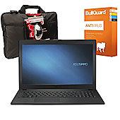 "ASUS Pro P2520LA-XO0301G 15.6"" Laptop Core i7-5500U 4GB RAM 500GB HDD with Antivirus & Case"