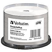 Verbatim DataLifePlus 43744 DVD Recordable Media - DVD-R, 50 Pack