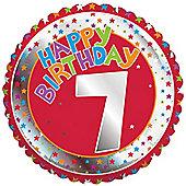 18' 7th Birthday Foil (each)