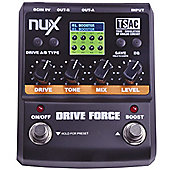 Nux Drive Force Series Stompbox Digital Effects Pedal