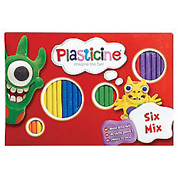 Plasticine Six Mix