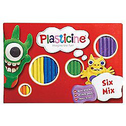 Plasticine Six Mix