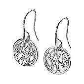 Lily & Lotty Sterling Silver 0.01ct Diamond RAFAELLA Earrings