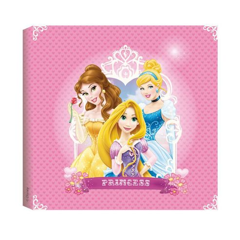 Buy disney princess printed canvas wall art from our for Disney princess wall mural tesco