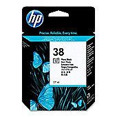 HP 38 Photo Pigment Ink Cartridge - Black