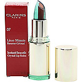 Clarins Instant Smooth Crystal Lip Balm 3.5g - 07 Crystal Gold Plum